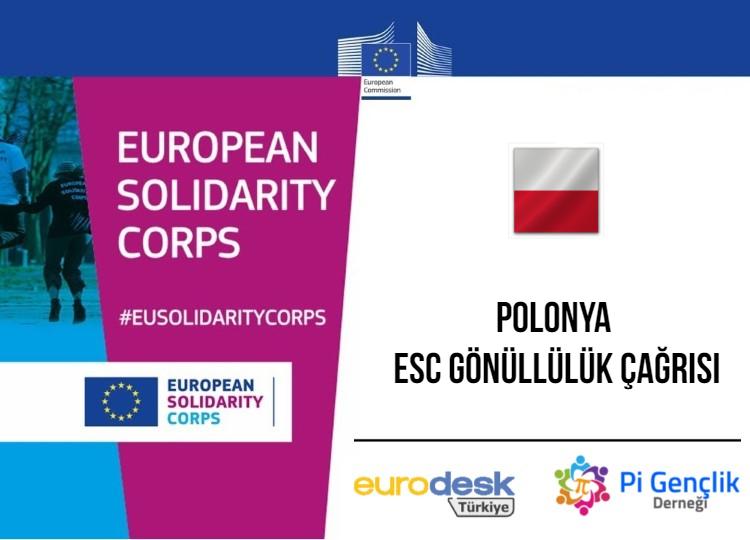 ESC-136 Polonya, ESC Gönüllülük Projesi Katılımcı Çağrısı