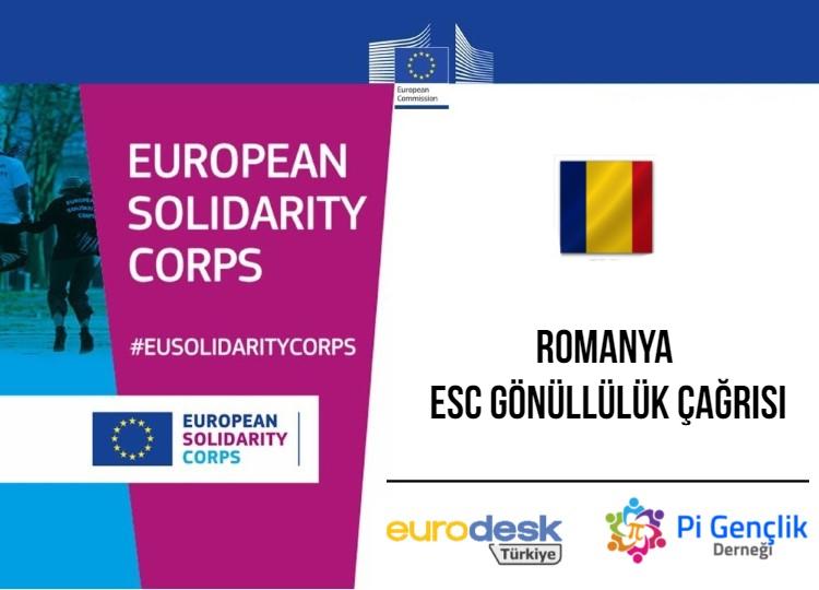 ESC-093 Romanya, ESC Gönüllülük Projesi Katılımcı Çağrısı